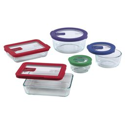 No-leak Lids™ 10-pc Storage Set